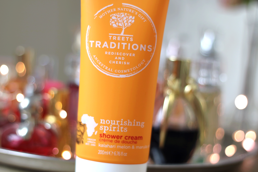 Treets Traditions Nourishing Spirits Shower Cream Tube