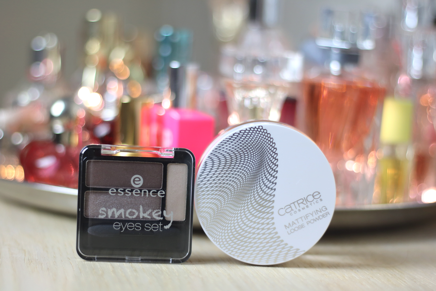 Essence Smokey Eye Set, Catrice LE Powder