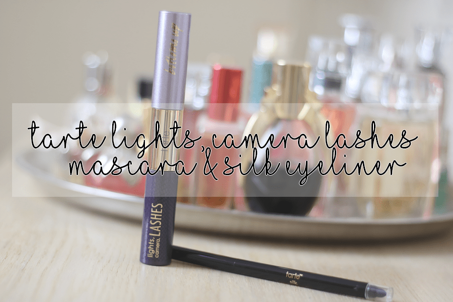 Tarte Lights, Camera, Lashes Mascara & Silk Eyeliner