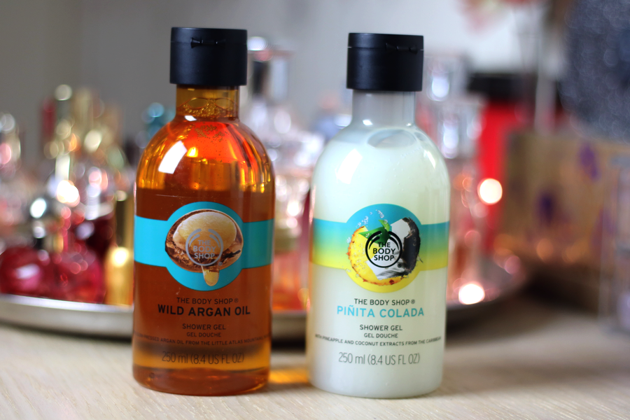 The Body Shop Wild Argan Oil & Pinita Colada Shower Gel