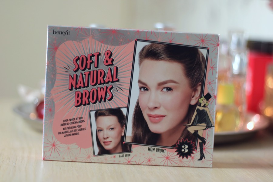 Benefit Soft & Natural Brows Kit Box