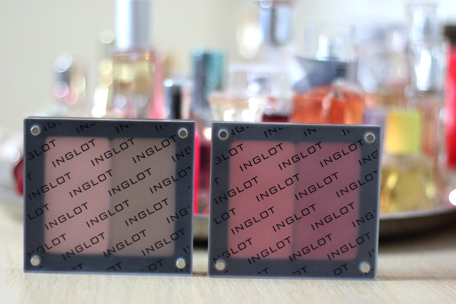 Inglot Contour Powder and Blushes