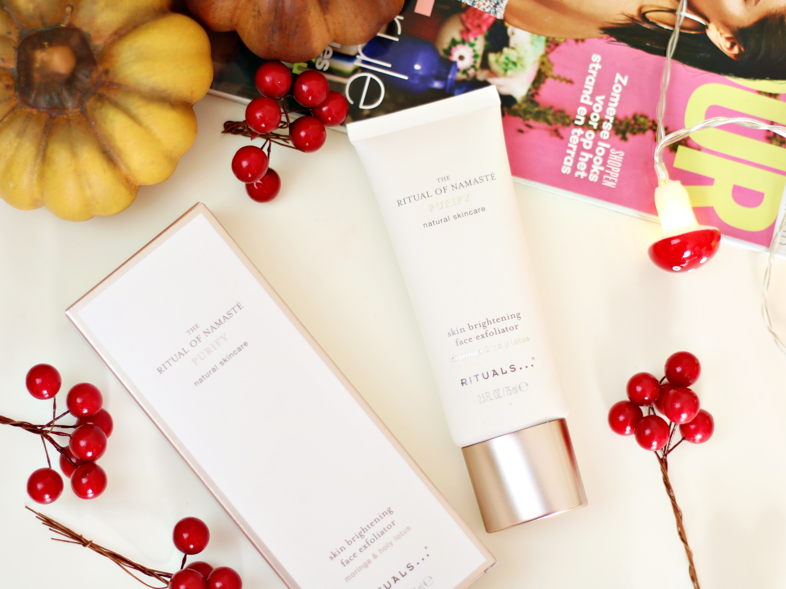 Soft & Nourished Skin With The Rituals The Ritual Of Namaste Skin Brightening Face Exfoliator