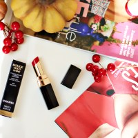 Chanel Coco Rouge Shine Lipstick 84 Dialogue