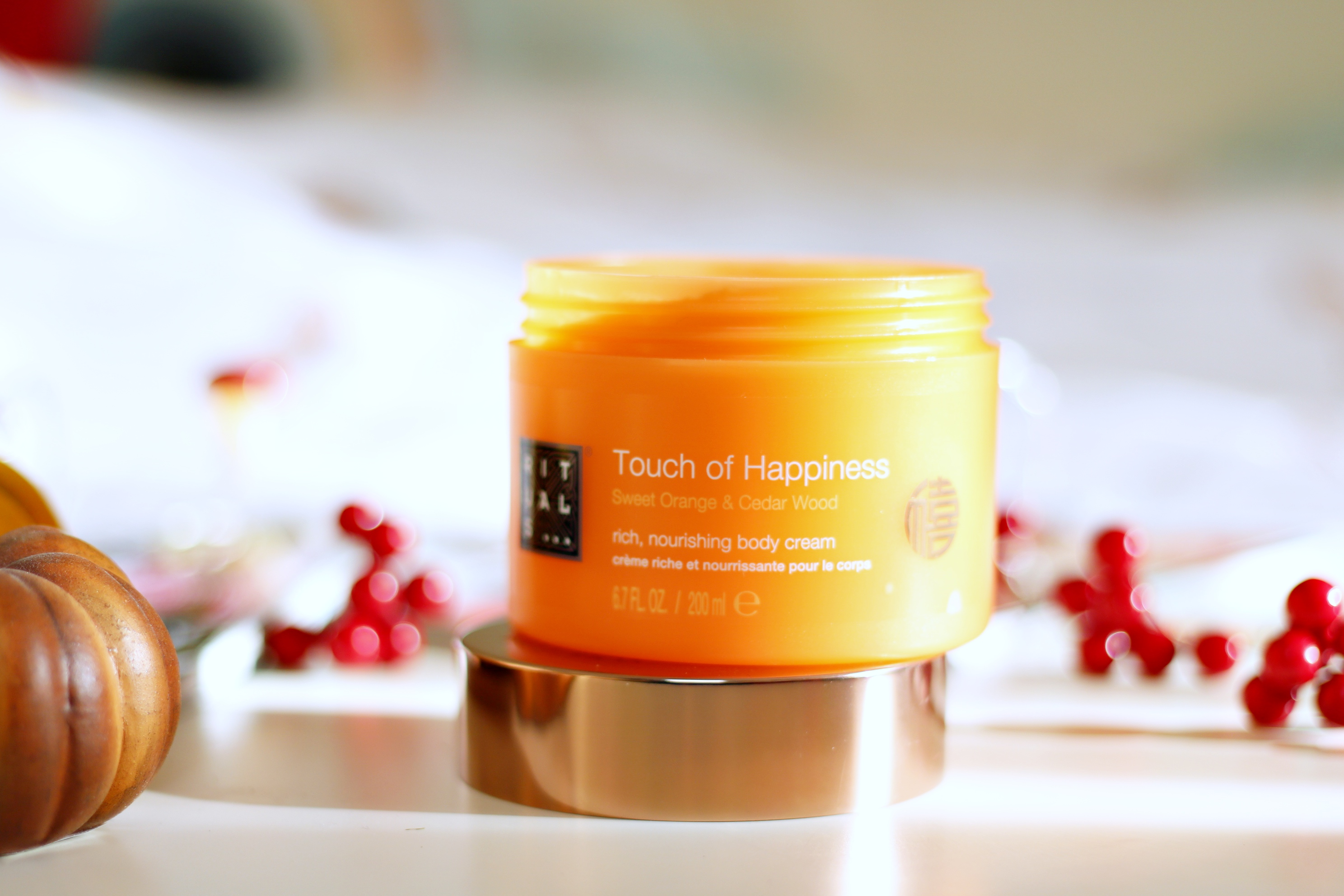 Happily Hydrated With The Rituals Touch Of Happiness Body Cream