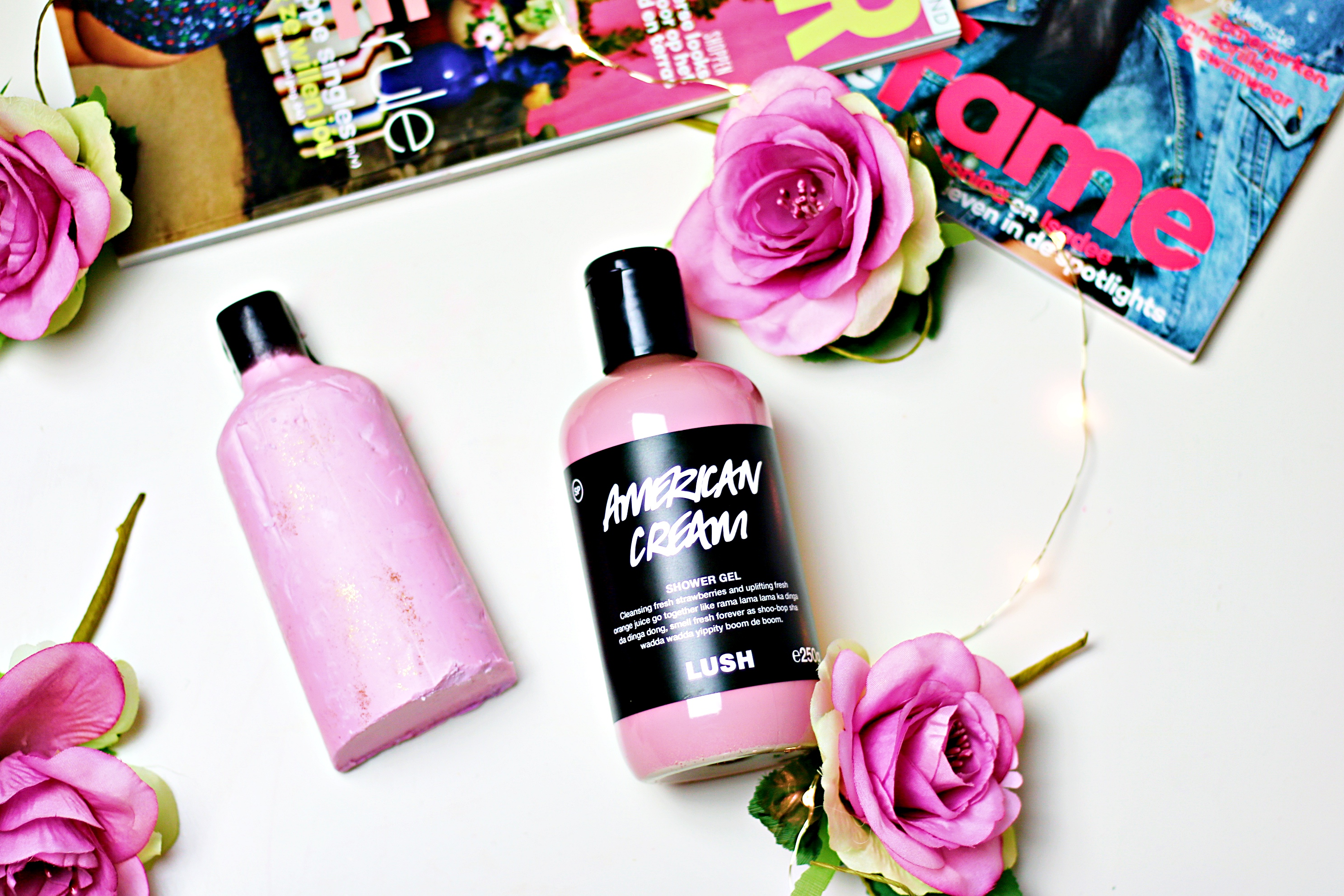 Lush American Cream Shower Gel Naked vs. Bottled: Is There A Difference?
