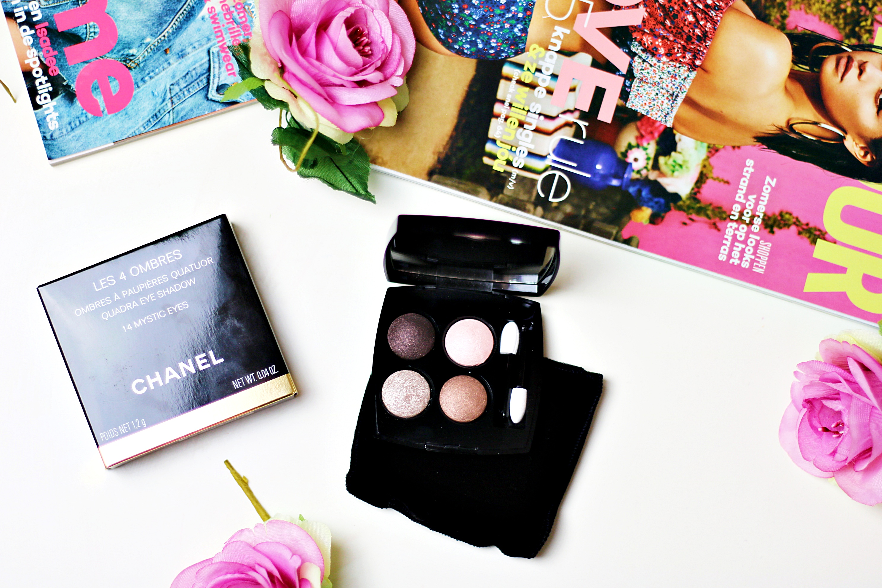 Chanel Les 4 Ombres Eyeshadow Palette 14 Mystic Eyes