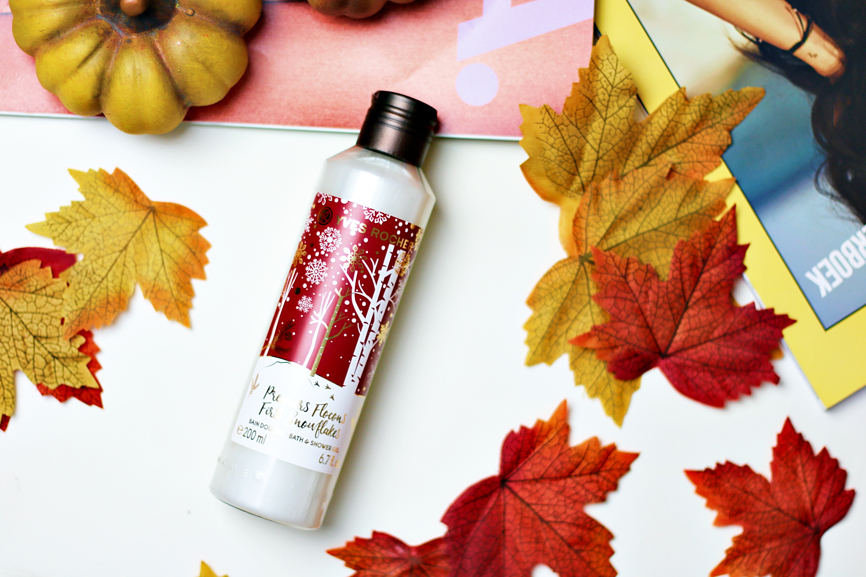 Yves Rocher Christmas 2019 First Snowflakes Bath & Shower Gel