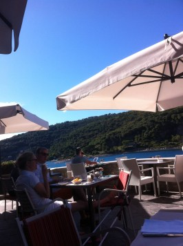 Breakfast on Terrace, Grand Hotel Porte Venere