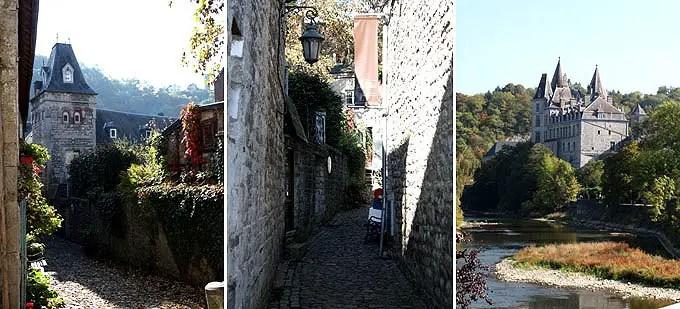 Stadtansichten von Durbuy - der kleinsten Stadt Belgiens - Belgien Urlaub