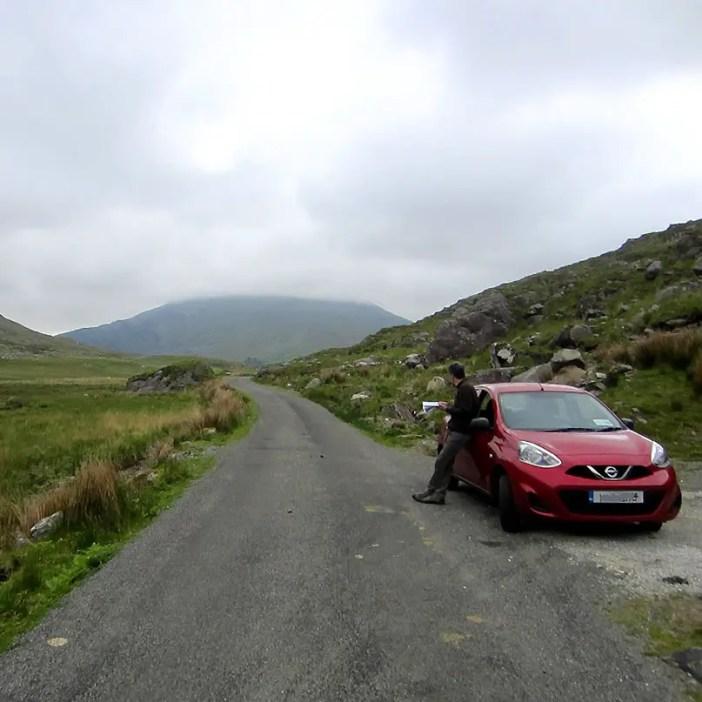 Rundreise-irland-reisetipps-irland-Ballaghbeama-Pass-strassenkarte