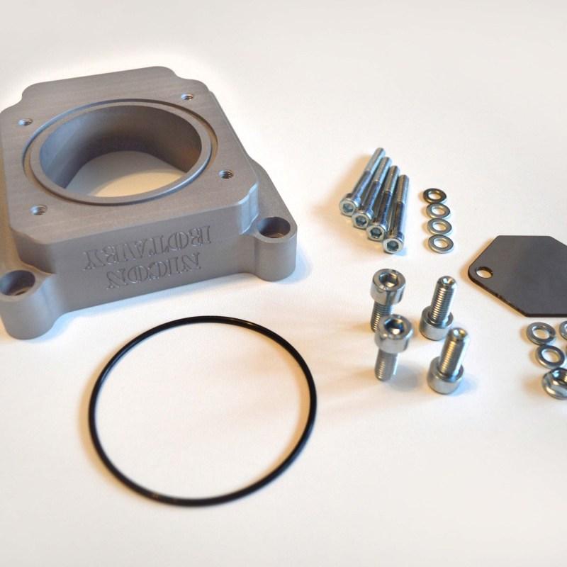 Rx-8 renesis electric throttle body to 13B-REW engine intake manifold  adapter