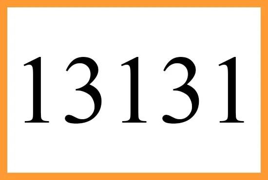13131
