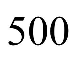 angel number 500