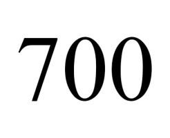 angel number 700
