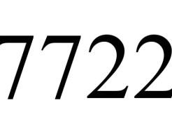 7722のエンジェルナンバーの意味