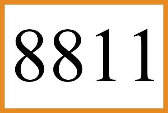 8811のエンジェルナンバーの意味について
