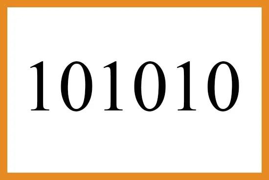 101010のエンジェルナンバーの意味について