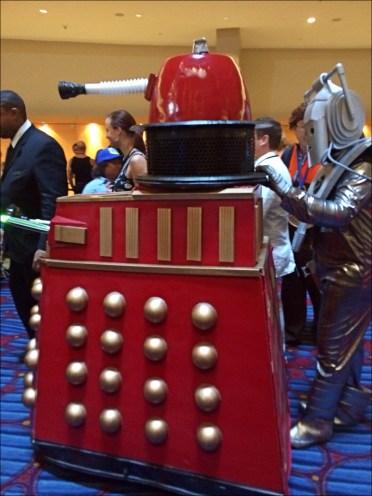 The Dalek and Cyberman appear again!