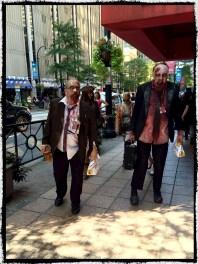Walkers in Atlanta! Apparently Moe's tastes like brains.