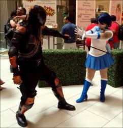 Deathstroke vs Sailor Mercury?