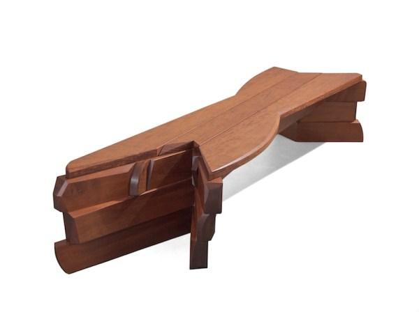Nico Yektai: Bench #10- Unique Wood Bench