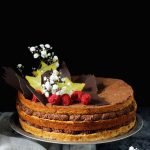 wegański tort czekoladowy bez glutenu