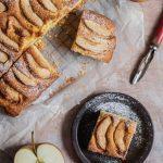Szybki placek z jabłkami
