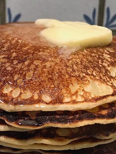 Pancakes au kéfir de lait