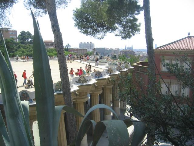 Terasse Parc Güell