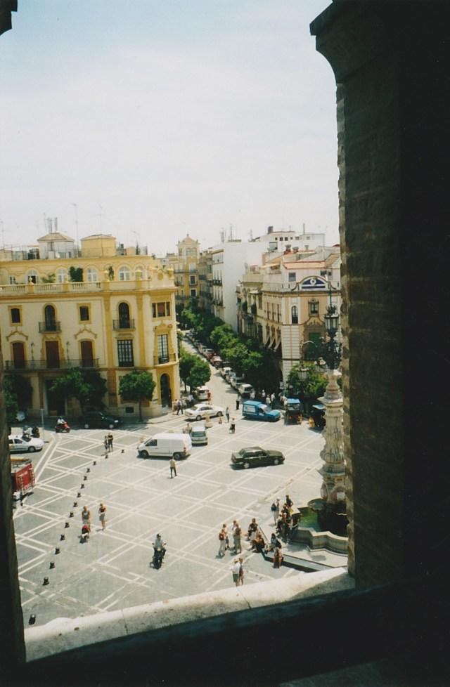 Blick auf Plaza del Triunfo