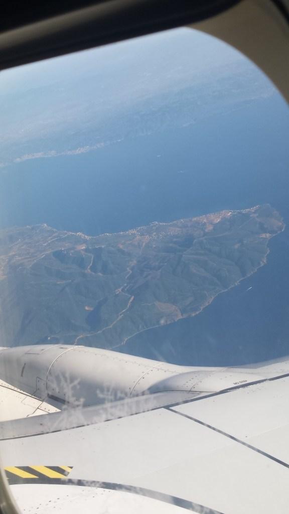 Anflug auf Istanbul