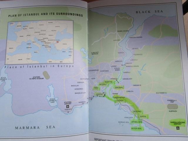 Istanbul-Karte