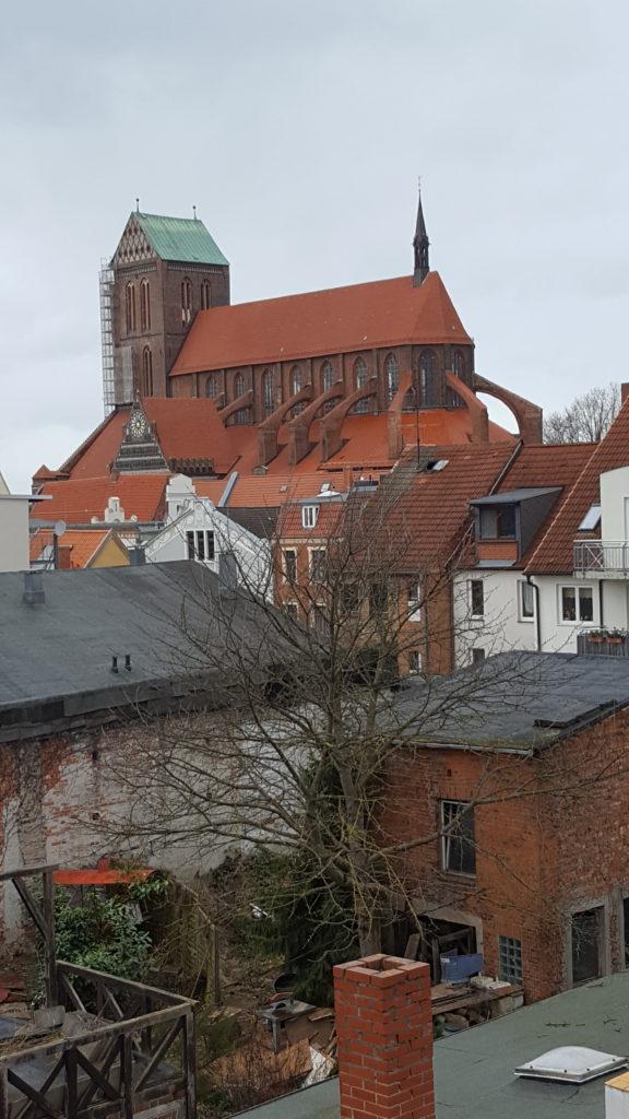 Ausblick auf St. Nikolai