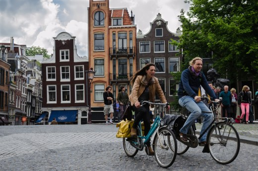 Everyday Cycle in Amsterdam