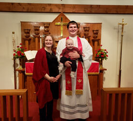 Rev. Phillip Fischaber Ordained and Installed, Holy Trinity, Walnut