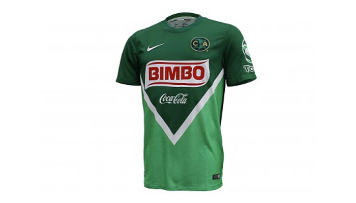 Uniforme Verde del Club América