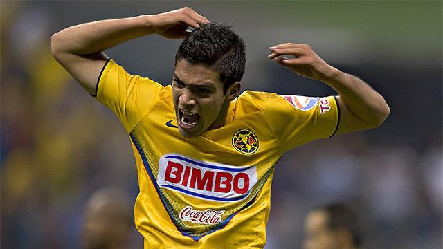 Raúl Jiménez Club América vs Santos