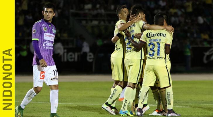 Portada Club America vs Chiapas