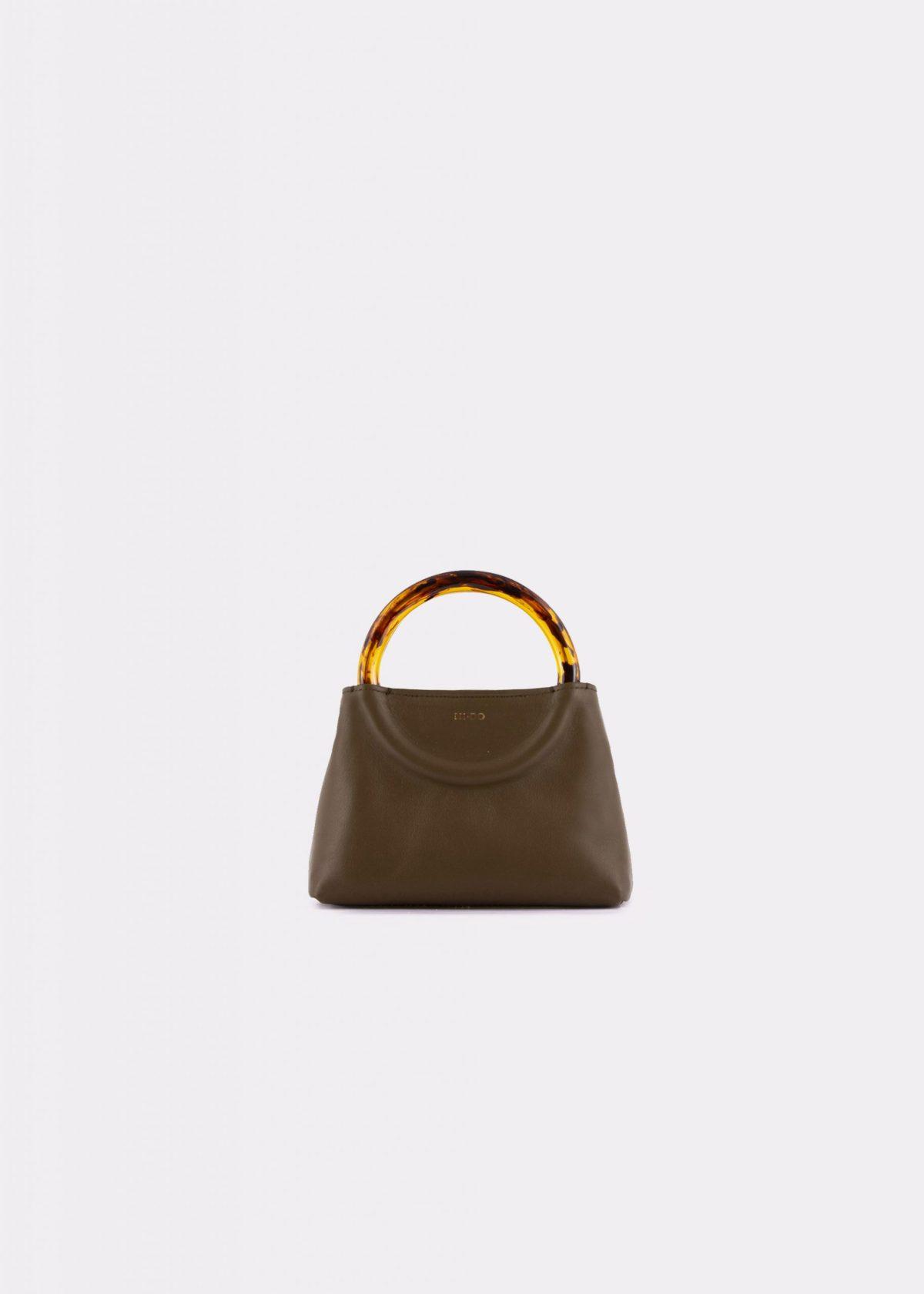 NIDO Bolla_Micro bag olive_front view
