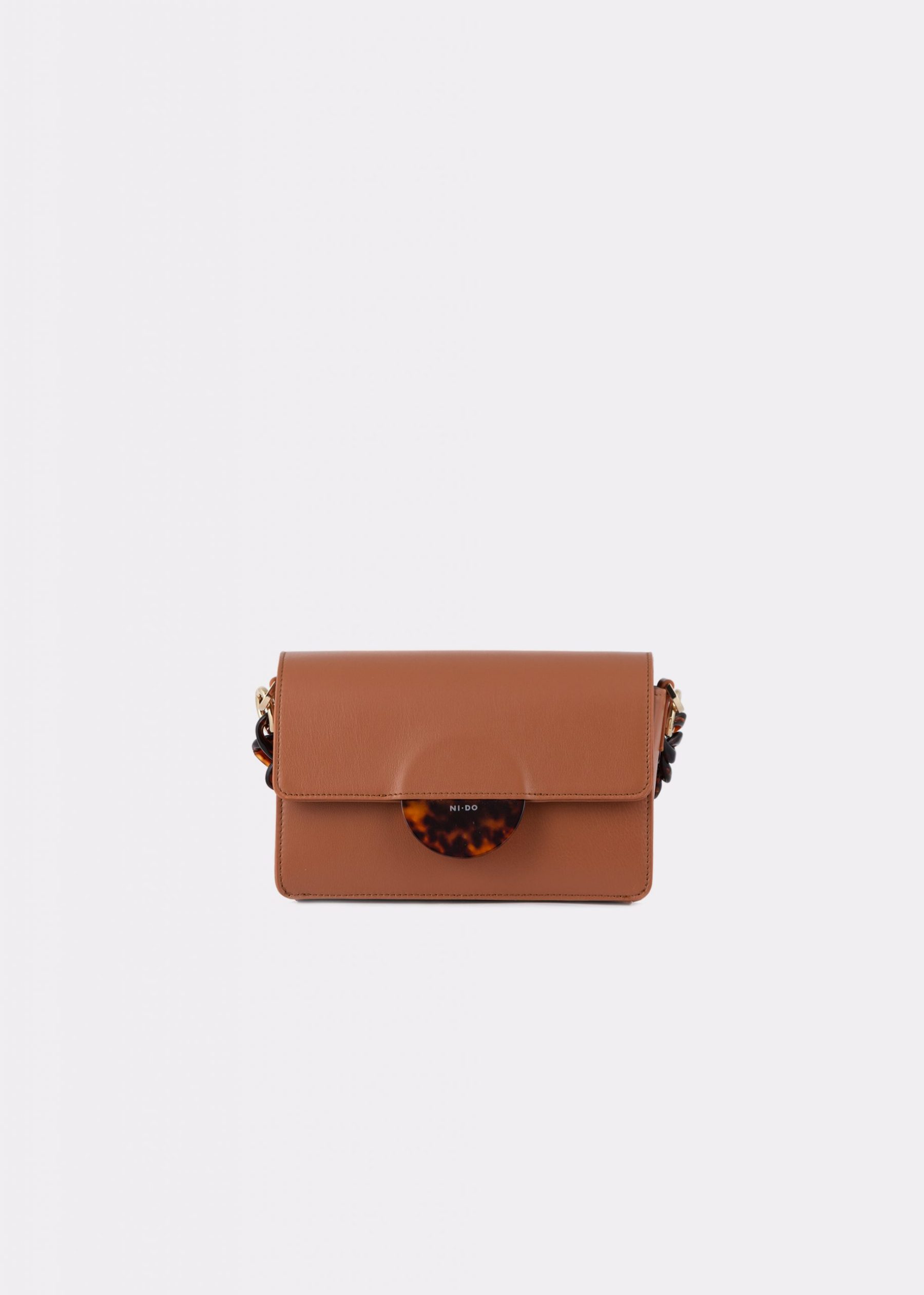 NIDO Cuore Mini bag Bisquit front view