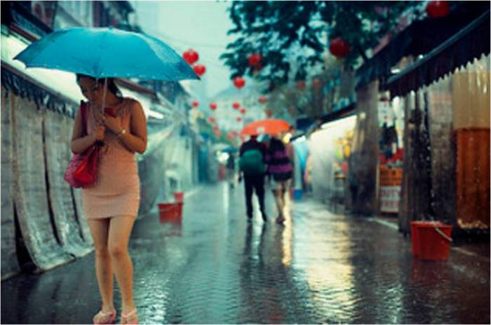 rain nidsun woman girl