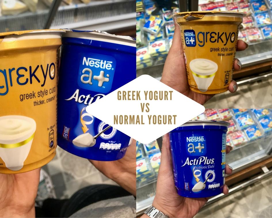 Greek Yoghurt v/s Normal Yoghurt