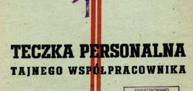 Teczka Personalna Tajnego Współpracownika