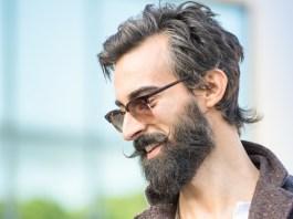hipster, mężczyzna, broda, wąsy
