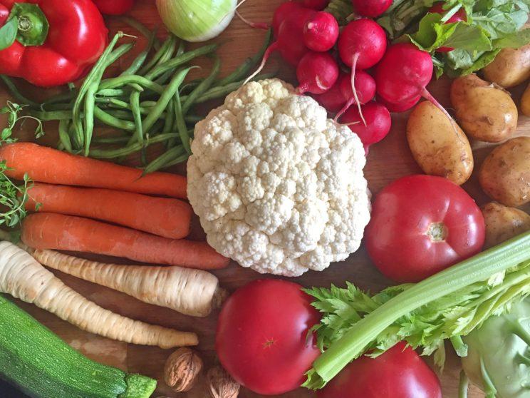 Kalafior i inne warzywa