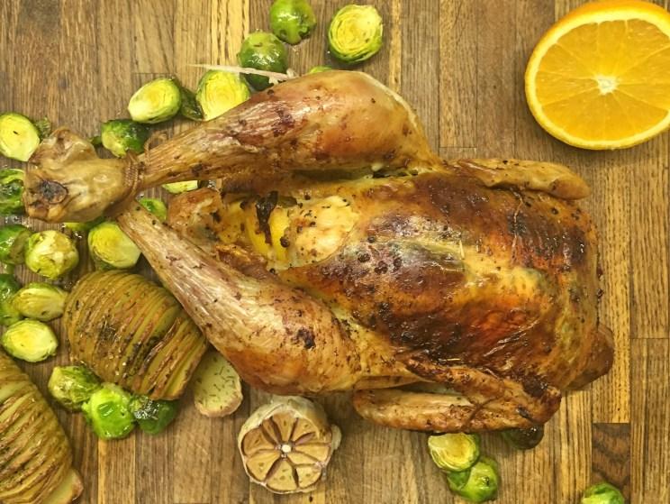 pieczony kurczak w cytrusach