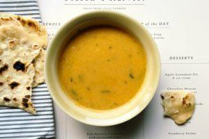 marokańska zupa z pieczonych warzyw