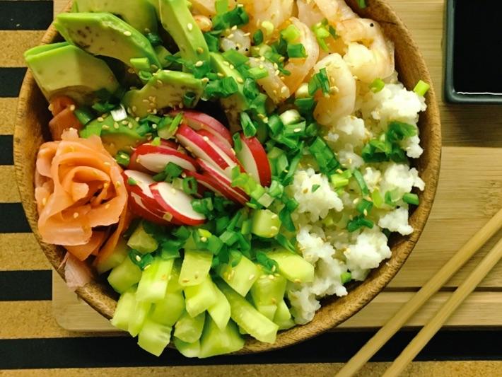 sushi bez zawijania