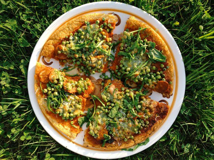 pizza z komosy